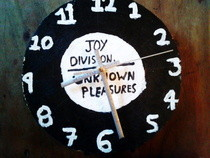 Joy Division Clock.