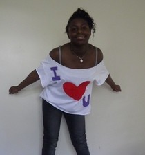Diy I Heart U Applique & Revese Applique Top