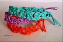 Summertime Macrame Bracelets