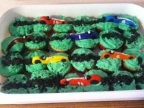 Race Car Cupcakes