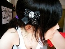 Pin Up Hair Bow