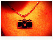Diana Camera Necklace