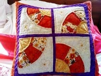 Patchwork Fan Cushion