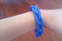 Braided Bracelet (Made With Polimer Clay)