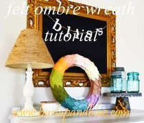 Ombre Wreath Tutorial