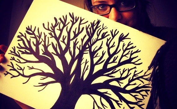 Thumbprint Tree Diy