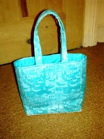 Mini Knitting Project Bag