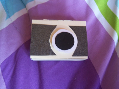 How to make a camera pendant. Camera Necklace - Step 5