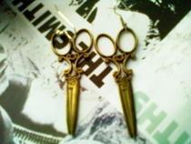 Victorian Scissor Earrings