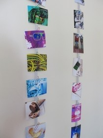 Photograph Wall Display