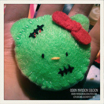 Zombie Hello Kitty Magnet