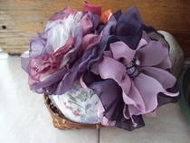 Fabric Brooch Bouquet
