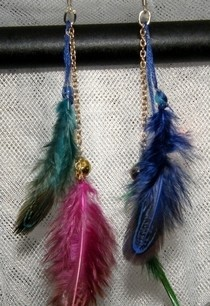 Diy Fashion Feather Earrings!!!