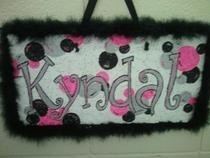 Painted Name Boards