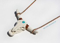 Wildfox Couture Inspired: Diy Bull Skull Necklace