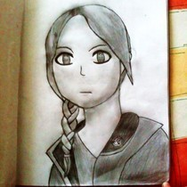 Katniss Drawing