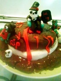 Scary 15th Birthday Cake