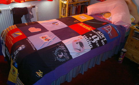 Very Simple T Shirt Quilt