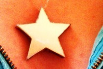 Cd Star Pendant