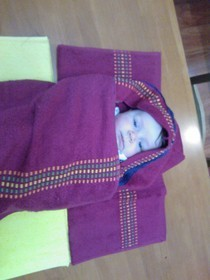 Hooded Bath Towel (Take 2)