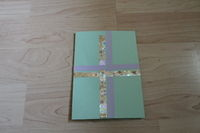 How to make a greetings card. Birthday Card (With The Present!) - Step 3