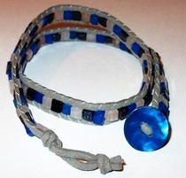 Big Blue Chan Luu Bracelet