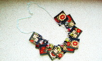 Decorative Ribbon Necklace