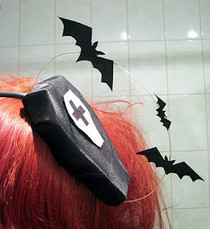 "Hair Accessory ""Bat Glide"""