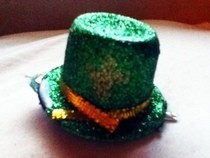 Mini St.Patrick's Day Top Hat