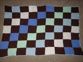 Checkerboard Crochet Blankie #2