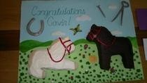 Farrier Congratulations Cake!