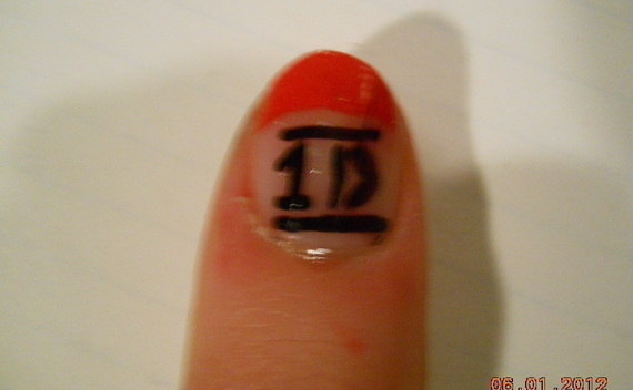 One Direction Nails<3