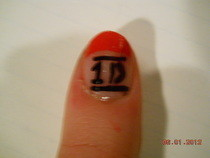 One Direction Nails&lt;3