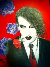 Marilyn Manson Drawing