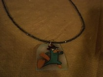 Perry The Platypus Necklace