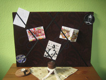 Criss Cross French Memo Board