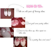 Diy: Lace It Up