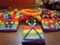 Lgbt Pride Pins And Bracelets