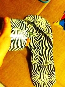 Duct Tape Flip Flops