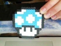 Super Mario Mushroom   Hama Beads