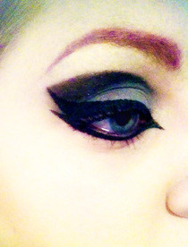 Gothic Wings Makeup