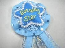 Felt Birthday Star Badge