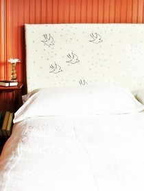 Birds In Flight Headboard