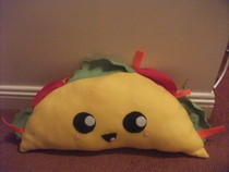 Taco Plushie