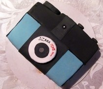 Camera Cake...Say Cheese! 