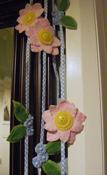 Spring Flower Garland