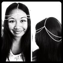 Silver Chain Headpiece