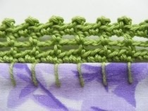 Crochet Pillowcase Edge