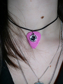 Plectrum Necklace