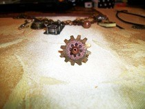 "Gear ""Flower"" Ring"
